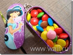 Теперь конфеты всегда со мной))))