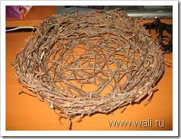 будущее пасхальное гнездо
